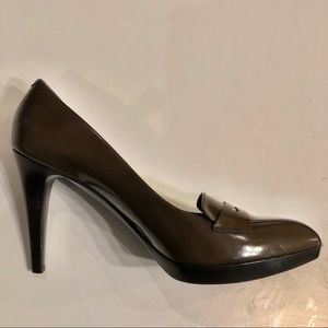 Bally DALLI Patent leather platform stacked heels